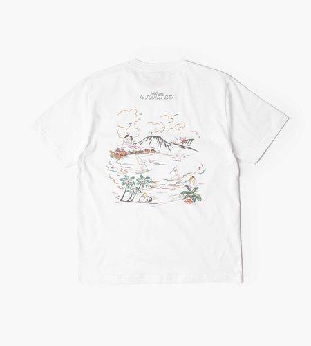 Carne Bollente Carne Bollente Squirt Bay T-Shirt White