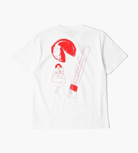 Carne Bollente Carne Bollente The Future Is In Your Mouth T-Shirt White