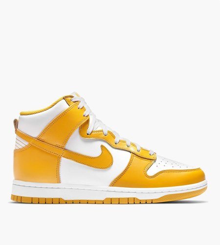 Nike Nike W Dunk High White Dark Sulfur White