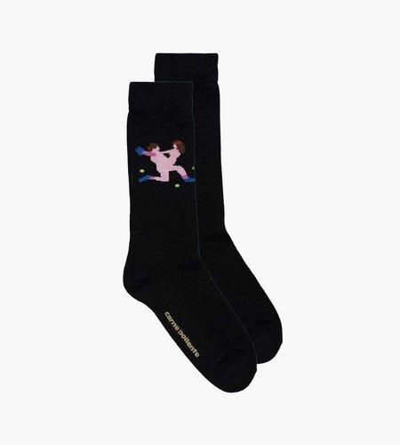 Carne Bollente Carne Bollente Andre Agassex Socks Black