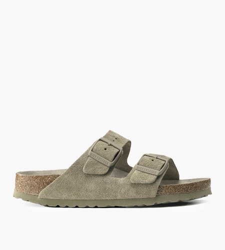 Birkenstock Birkenstock Arizona SFB VL Faded Khaki Narrow