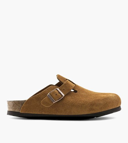Birkenstock Birkenstock Boston Mink Narrow Veloursleder Suede