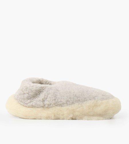 Yoko Wool Yoko Wool Siberian Slippers Grey