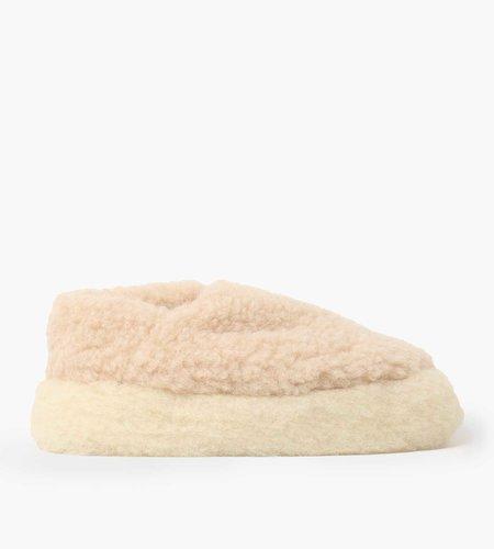 Yoko Wool Yoko Wool Siberian Slippers Beige