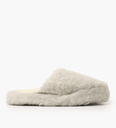 Yoko Wool Yoko Wool Basic Slipper Light Grey