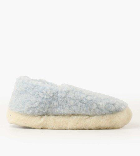 Yoko Wool Yoko Wool Siberian Slippers Light Blue