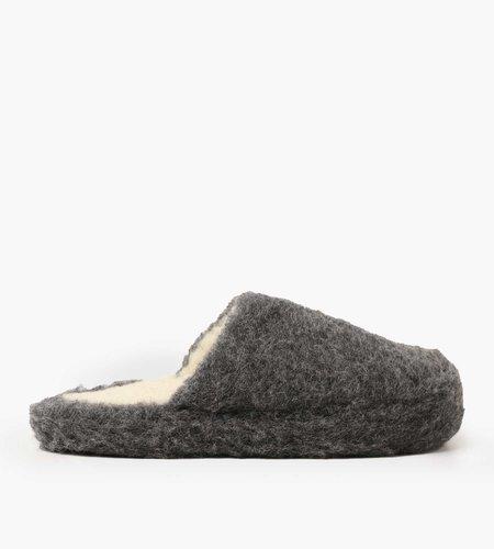 Yoko Wool Yoko Wool Basic Slipper Graphite