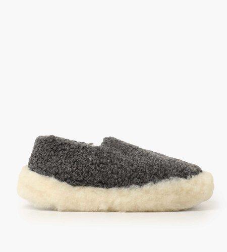 Yoko Wool Yoko Wool Siberian Slippers Graphite