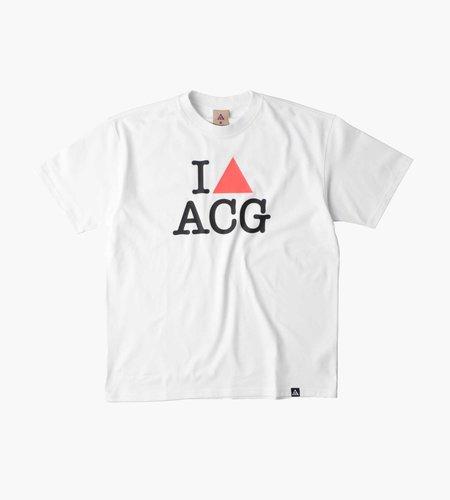 Nike Nike M NRG ACG T-Shirt Iheartacg Summit White