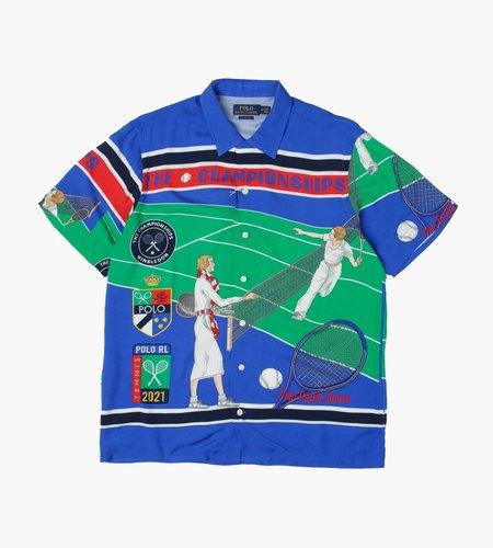 Polo Ralph Lauren Polo Ralph Lauren M Wimbledon Retail Andy Camp SS Short Sleeve Sport Shirt 4760