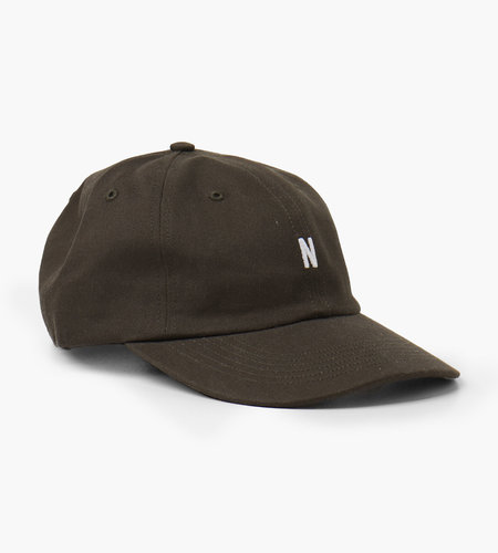 Norse Projects Norse Projects Twill Sports Cap Beech Green