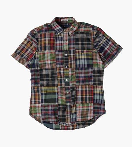Polo Ralph Lauren Polo Ralph Lauren M Classics 3 Long Sleeve Sport Shirt 4624 Dark Patchwork