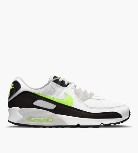 Nike Nike Air Max 90 White Hot Lime Black Neutral Grey