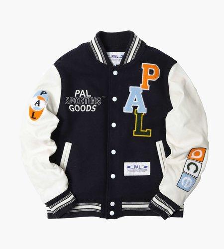 PAL Sporting Goods PAL Championship Varsity Jacket Deep Navy Marshmellow