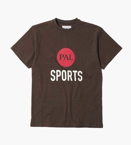 PAL Sporting Goods PAL Broadcast Logo T-Shirt Deep Brown