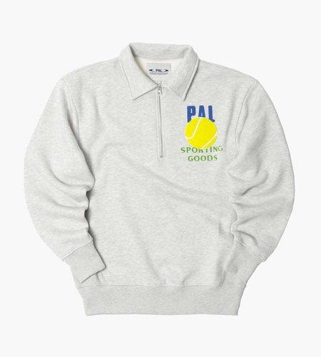 PAL Sporting Goods PAL League Half Zip Light Gray Marl