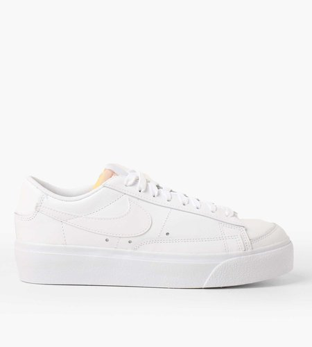 Nike Nike W Blazer Low Platform White White White Black