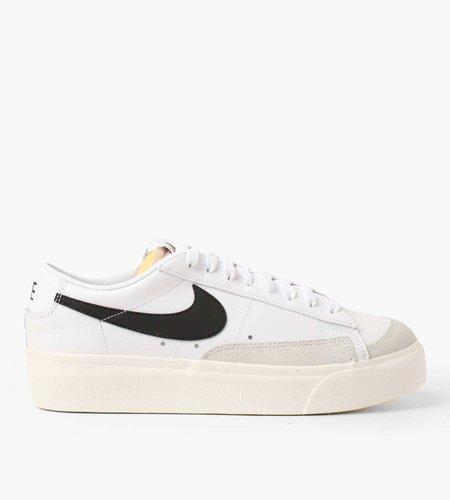 Nike Nike W Blazer Low Platform White Black Sail Team Orange