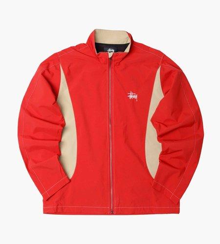 Stussy Stussy Panel Track Jacket Red