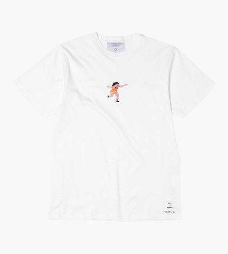 Baskèts Baskèts X J.B.J. Tribute to '88 ''De Zwarte Tulp''  T-Shirt White