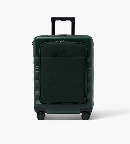 Nortvi Nortvi Rainforest Green Front Pocket 39L Suitcase