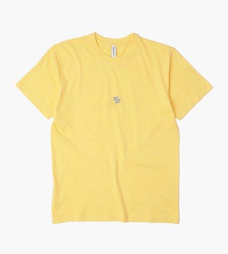 Reception Reception T-Shirt ''Reception'' Yellow