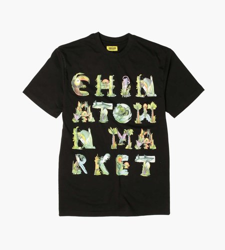 Chinatown Market Chinatown Market Watercolor Sea Creatures T-Shirt Black