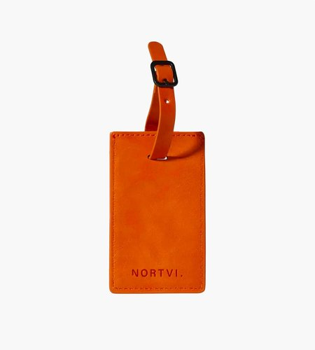 Nortvi Nortvi Luggage Tag Burnt Orange Tag