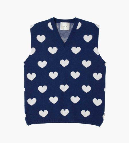 Arte Antwerp Arte Antwerp Klimt Heart Knit Blue White