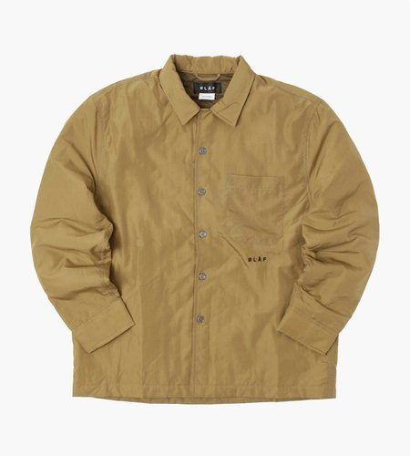 OLAF OLAF Quilted Overshirt Light Green