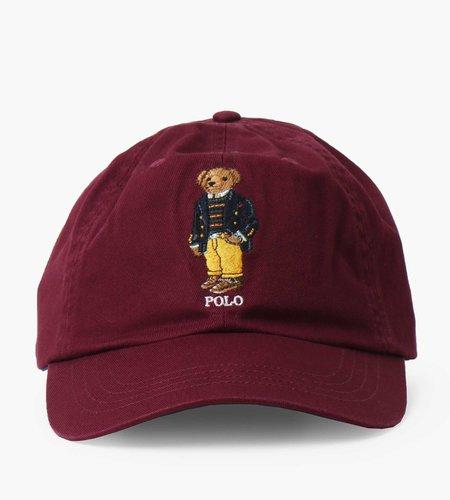 Polo Ralph Lauren Polo Ralph Lauren Classic Sport Cap Cap Hat Classic Wine