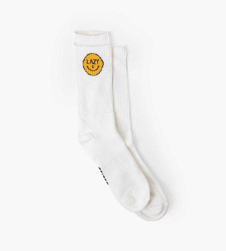 Ceizer Ceizer x Pockies Lazy Socks White