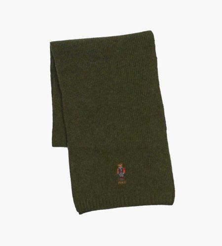Polo Ralph Lauren Polo Ralph Lauren Outdoor Bear Oblong Scarf Spartan Green