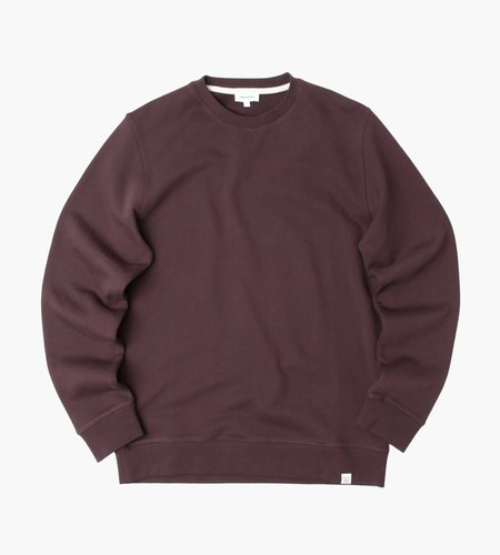 Norse Projects Norse Projects Vagn Classic Crew Sweater Eggplant