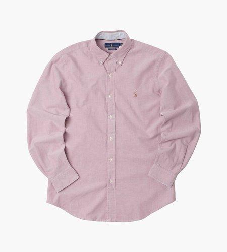 Polo Ralph Lauren Polo Ralph Lauren Cub Dp Pcs Long Sleeve Sport Shirt 2535C Crimson White