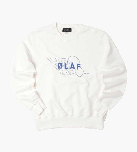 OLAF OLAF Mirror Crewnek White