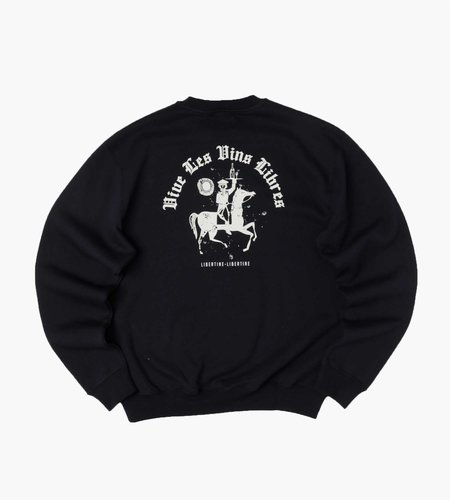 Libertine Libertine Libertine Libertine Society Libre Sweatshirt Dark Navy
