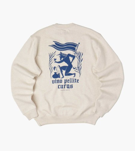 Libertine Libertine Libertine Libertine Society Pellite Sweatshirt Ecry Melange