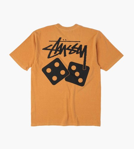 Stussy Stussy Dice Pig. Dyed Tee copper