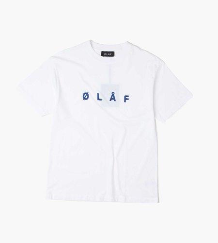 OLAF OLAF Chainstitch Tee White