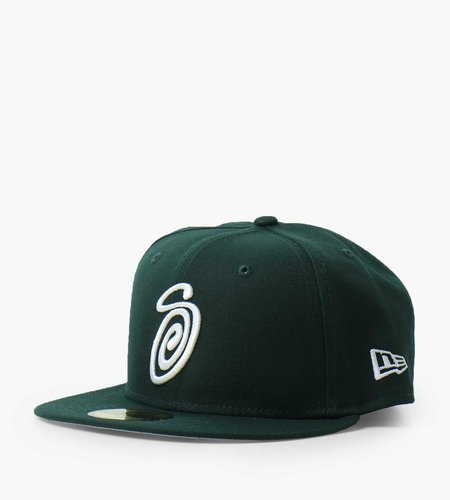 Stussy Stussy Curly S 59Fifty New Era Cap forest