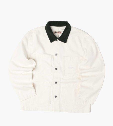 Stussy Stussy Cord Collar Canvas Chore Jacket bone