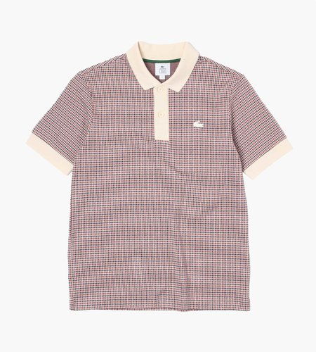 Lacoste Lacoste 1Hp3 Shortsleeve Polo 08 Naturel Clair Navy Blue B