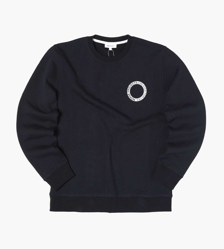 Norse Projects Norse Projects Vagn Bmc Logo Print Sweater Black