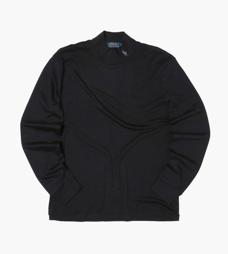 Polo Ralph Lauren Polo Ralph Lauren Lsmockm2 Long Sleeve Pullover Polo Black C9686