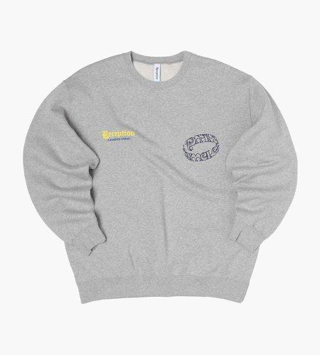 Reception Reception Club Sweat Extra Brushed Fleece Athletic Grey