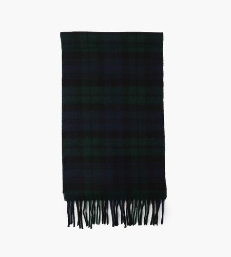 Norse Projects Norse Projects Moon Checked Lambswool Scarf Black Watch Check