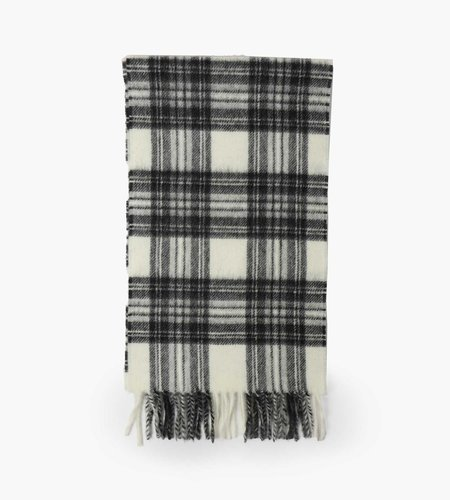 Norse Projects Norse Projects Moon Checked Lambswool Scarf Magnet Grey