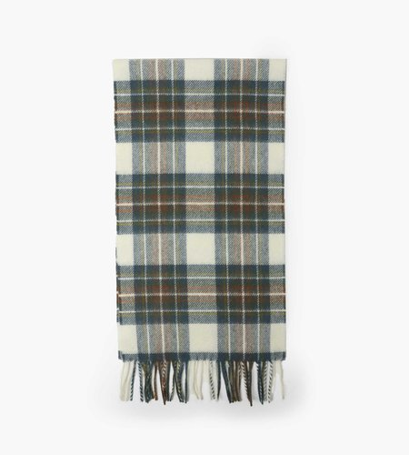 Norse Projects Norse Projects Moon Checked Lambswool Scarf Scoria Blue