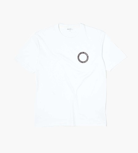 Norse Projects Norse Projects Johannes Bmc Logo Print Tee White